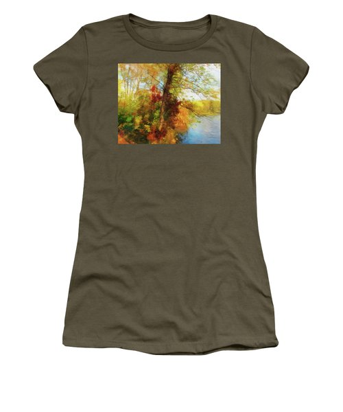 Simply Autumn Women's T-Shirt (Athletic Fit)