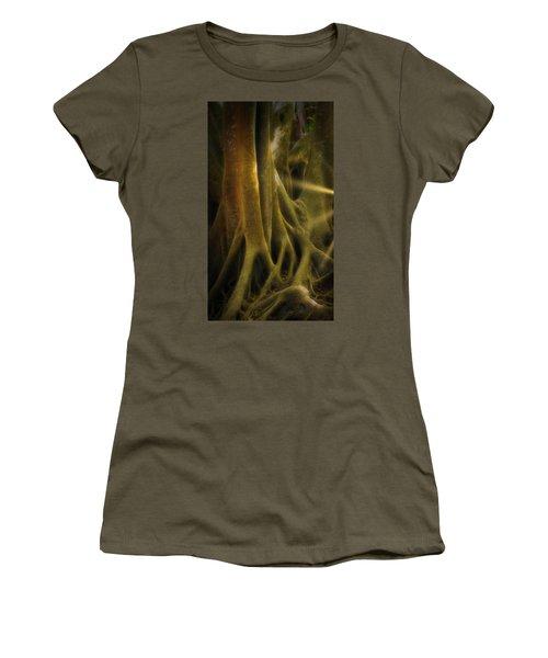 Women's T-Shirt featuring the photograph Sinews by Richard Goldman