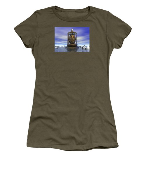 Sixth Sense - Surrealism Women's T-Shirt (Athletic Fit)