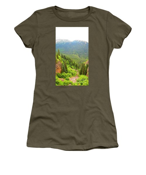 Skagway Alaska Women's T-Shirt (Athletic Fit)