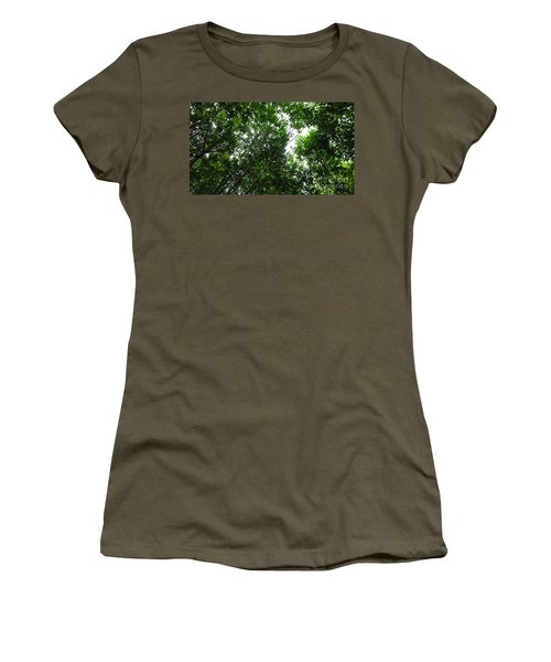 Skagway Green Women's T-Shirt (Athletic Fit)