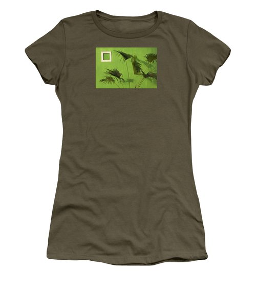 Skc 0683 Nature Outside Women's T-Shirt (Athletic Fit)