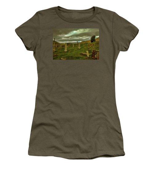 Skies And Headstones #g9 Women's T-Shirt