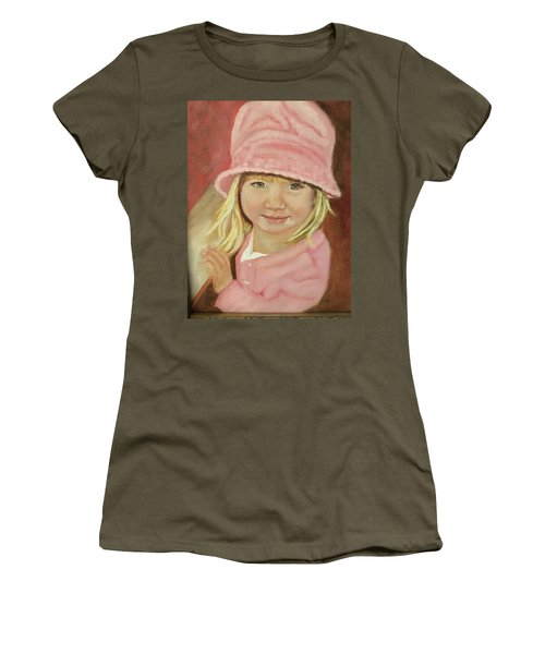 Sky In Pink Women's T-Shirt (Junior Cut) by Sharon Schultz