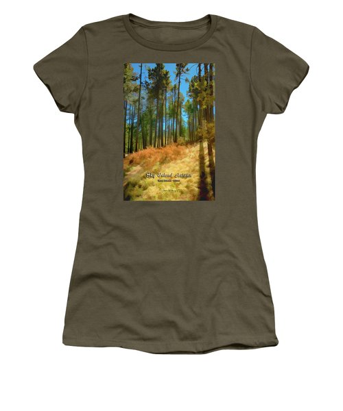 Sky Island Autumn Women's T-Shirt (Athletic Fit)