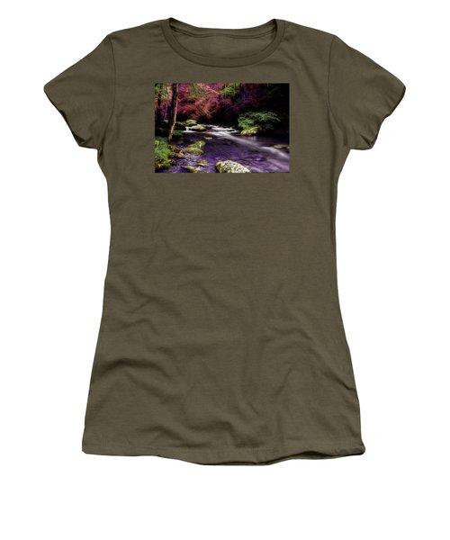 Sleep Walking Women's T-Shirt (Junior Cut) by Mike Eingle