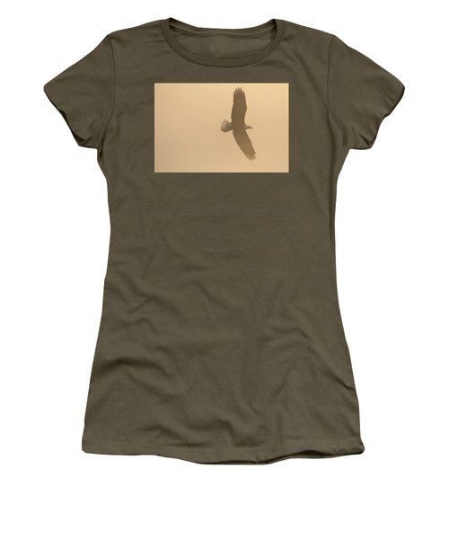 Slicing Through The Fog Women's T-Shirt (Athletic Fit)