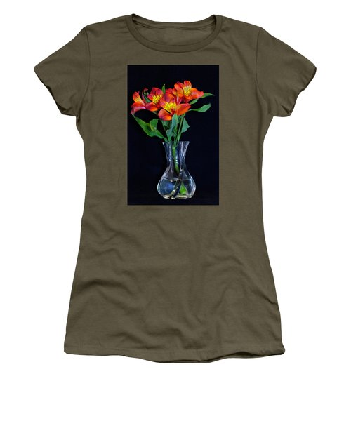 Small Bouquet Of Flowers Women's T-Shirt