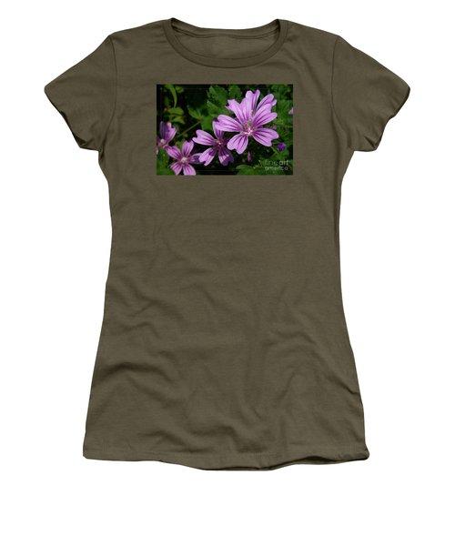 Small Mauve Flowers 6 Women's T-Shirt