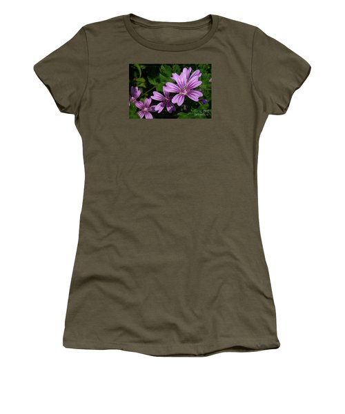 Small Mauve Flowers 6 Women's T-Shirt