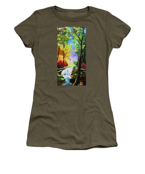 Small Waterfall Women's T-Shirt
