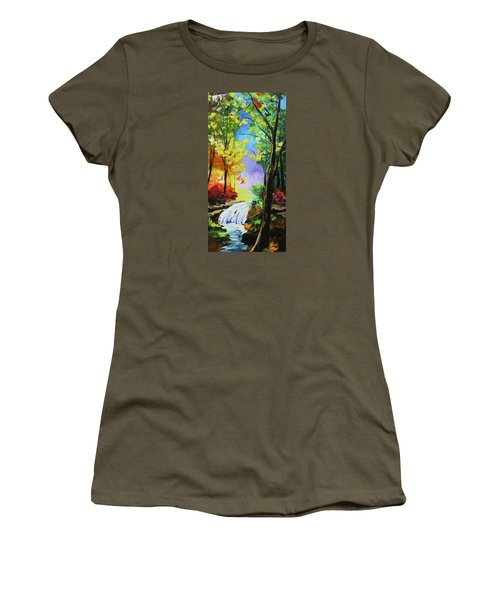 Small Waterfall Women's T-Shirt