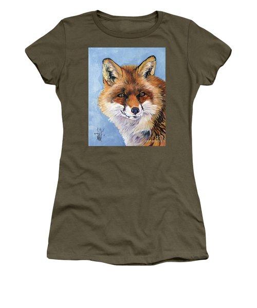 Smiling Fox Women's T-Shirt