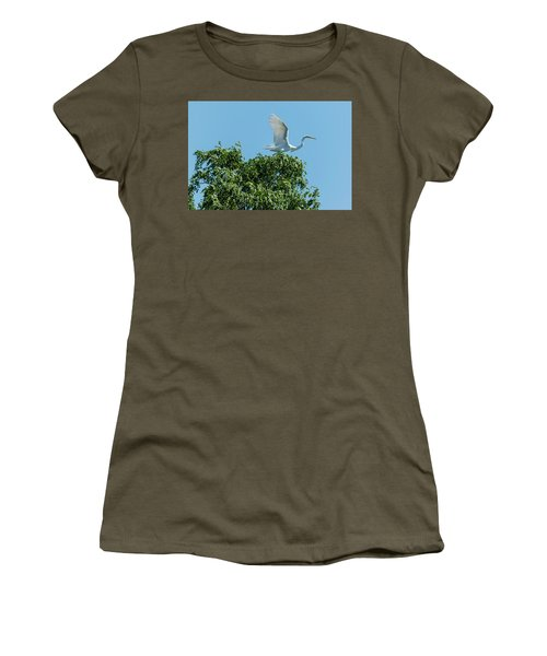 Women's T-Shirt (Junior Cut) featuring the photograph Smith Creek by Steven Richman