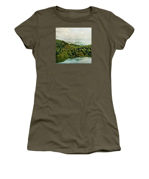 Smoky Mountain Reflections Women's T-Shirt