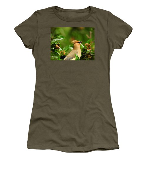 Women's T-Shirt (Junior Cut) featuring the photograph Snacking by Betty-Anne McDonald