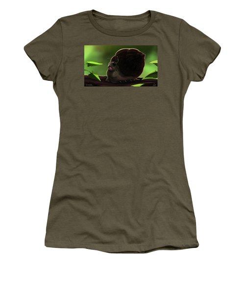 Snail Women's T-Shirt (Athletic Fit)