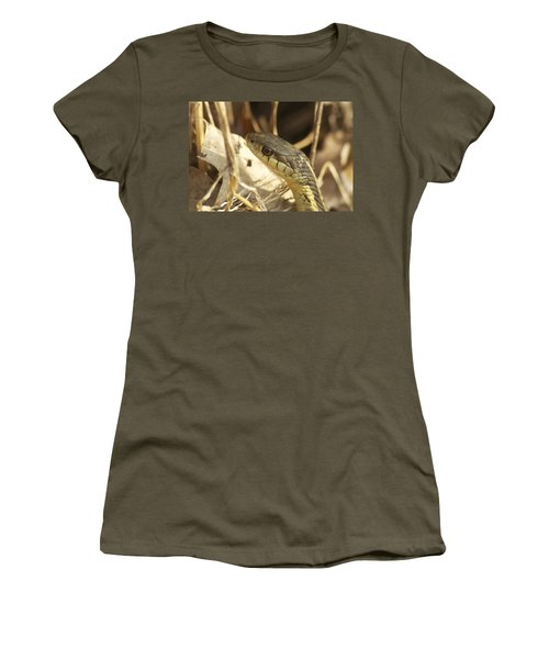 Snake Eye Women's T-Shirt (Athletic Fit)