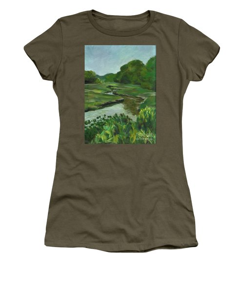 Snake Like Creek I Me Women's T-Shirt (Athletic Fit)
