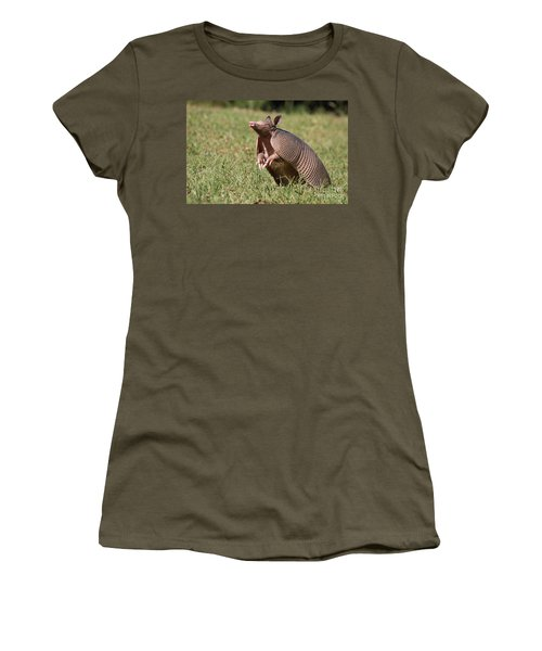 Sniffing The Air Women's T-Shirt (Athletic Fit)