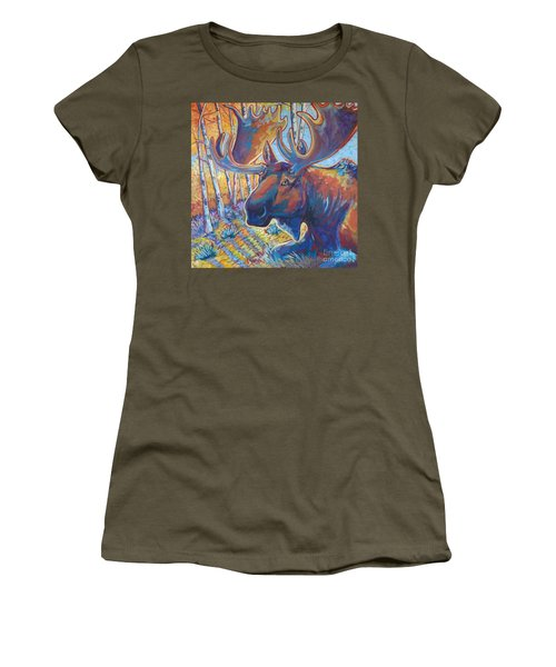 Snooze In The Aspens Women's T-Shirt (Athletic Fit)