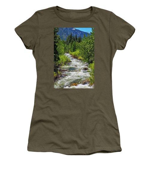 Snowmelt On The Carson Women's T-Shirt