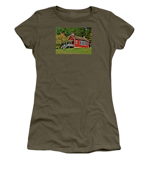 Soap Creek Schoolhouse Women's T-Shirt (Junior Cut) by VLee Watson