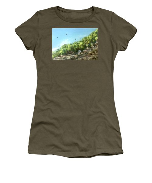 Soaring Above The North Rim Women's T-Shirt (Athletic Fit)