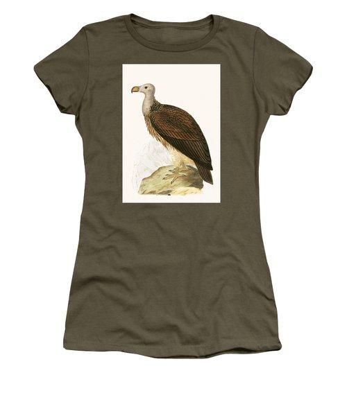 Sociable Vulture Women's T-Shirt (Junior Cut) by English School