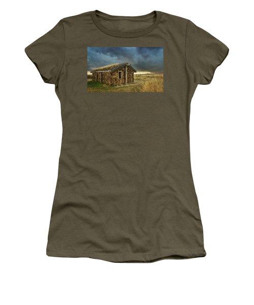 Sod House - Toadstool Geologic Park Women's T-Shirt