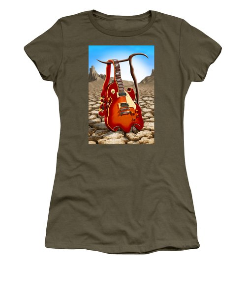 Soft Guitar Women's T-Shirt (Athletic Fit)
