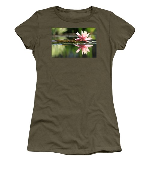Soft Pink Water Lily Women's T-Shirt