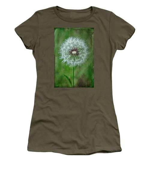 Women's T-Shirt (Junior Cut) featuring the photograph Softly Sitting by Jan Amiss Photography