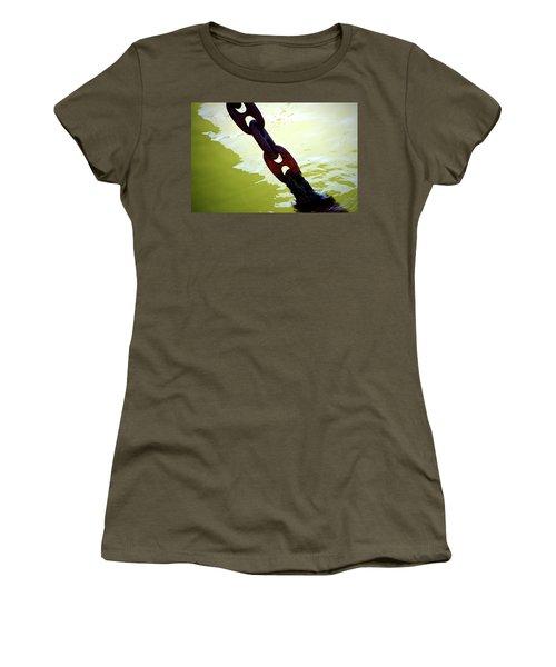 Solid 2 Women's T-Shirt (Junior Cut) by Newel Hunter