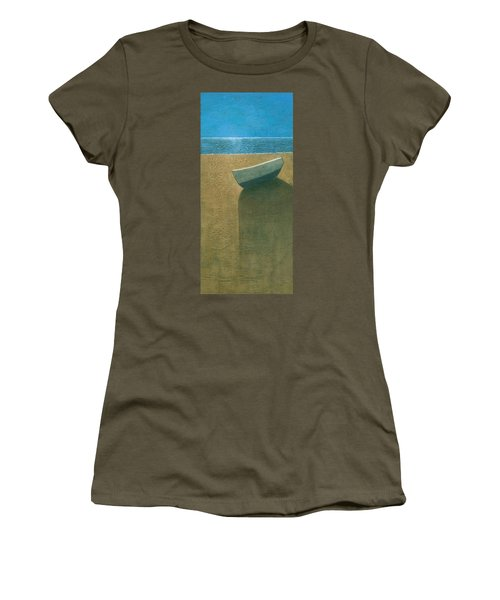 Solitary Boat Women's T-Shirt