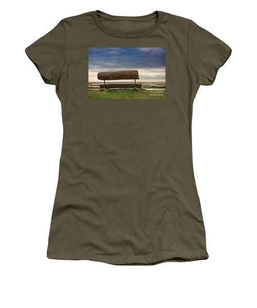 Women's T-Shirt (Junior Cut) featuring the photograph Solitude.. by Nina Stavlund