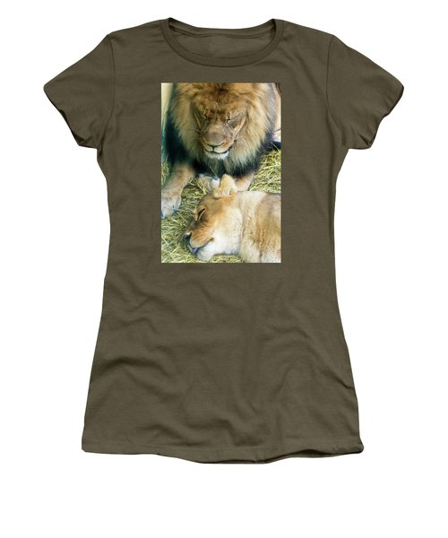 Someone To Watch Over Me Women's T-Shirt (Junior Cut) by David Stasiak