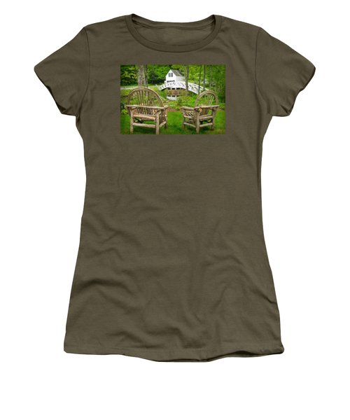 Somesville Maine - Arched Bridge Women's T-Shirt