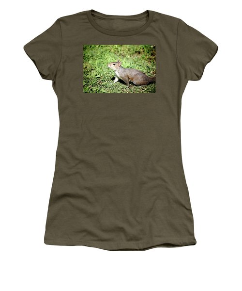 Women's T-Shirt (Athletic Fit) featuring the photograph Something In The Air 259 by Ericamaxine Price