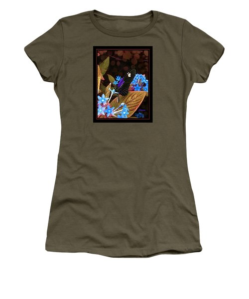 Something Sweet Women's T-Shirt (Junior Cut) by Steven Lebron Langston