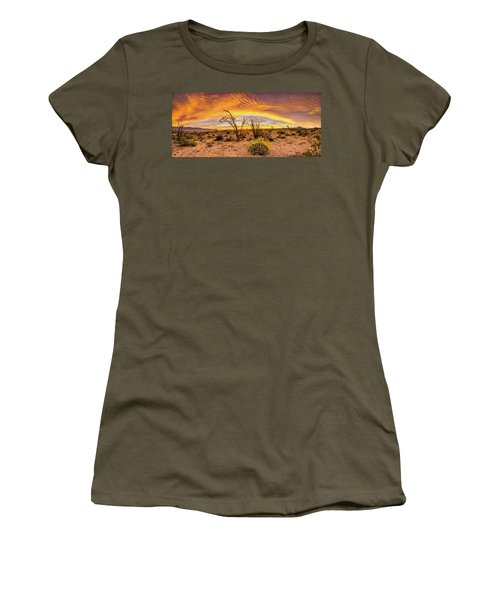 Women's T-Shirt (Junior Cut) featuring the photograph Somewhere Over by Peter Tellone