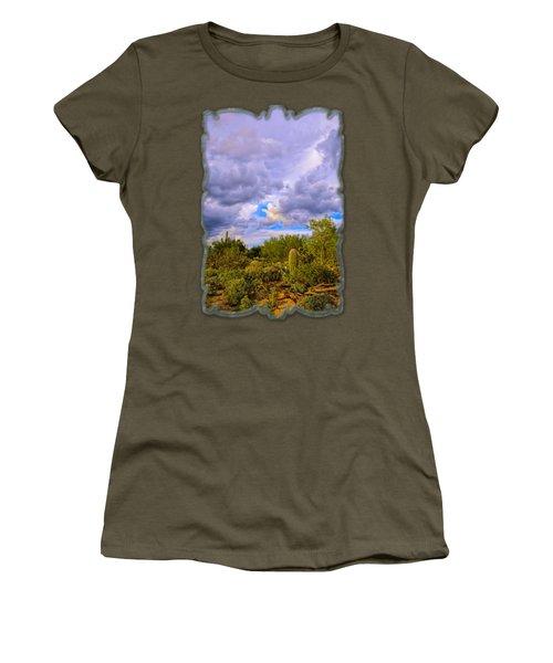 Sonoran Desert V13 Women's T-Shirt (Athletic Fit)