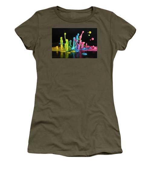 Women's T-Shirt (Junior Cut) featuring the photograph Sound Sculpture by William Lee
