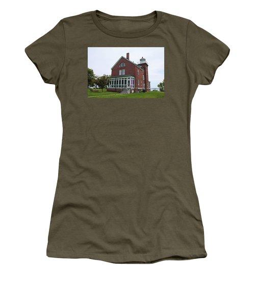 South Bass Island Lighthouse- Horizontal Women's T-Shirt