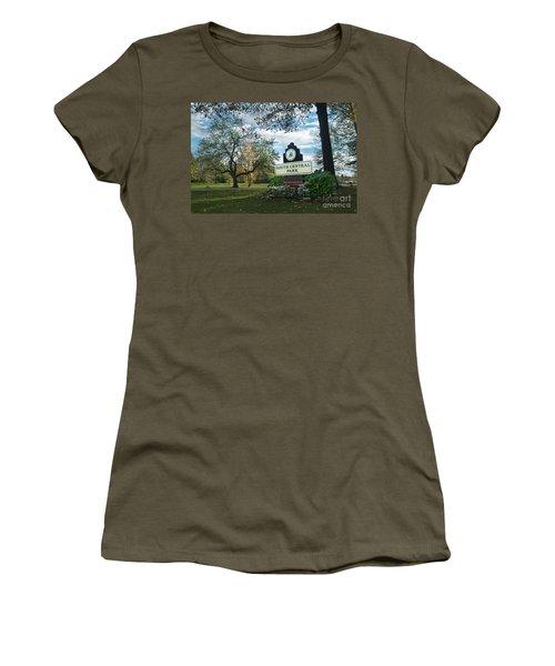 South Central Park - Autumn Women's T-Shirt (Athletic Fit)