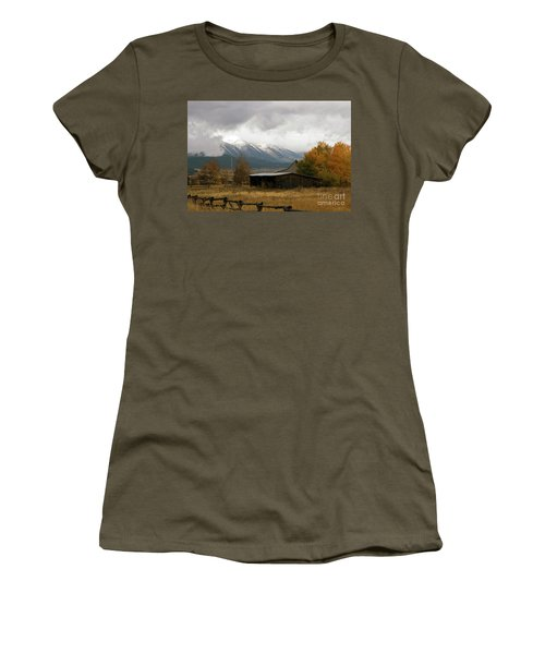 South Idaho Rt 20 Women's T-Shirt (Junior Cut) by Cindy Murphy - NightVisions