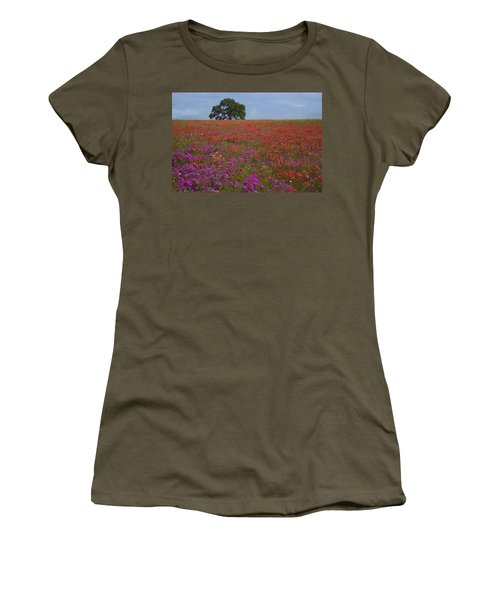 South Texas Bloom Women's T-Shirt (Athletic Fit)
