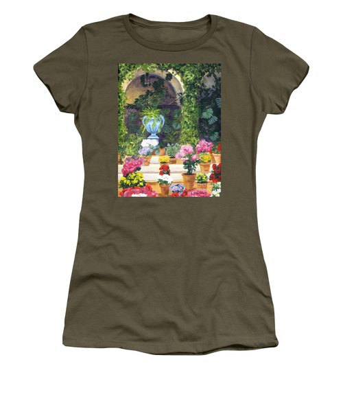Spanish Courtyard Women's T-Shirt