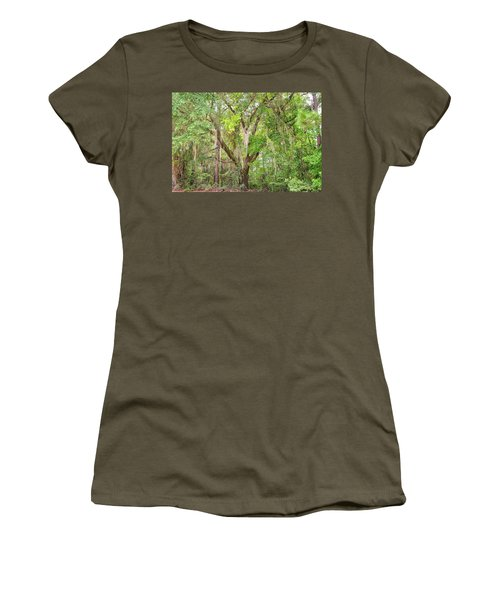 Spanish Moss Women's T-Shirt (Athletic Fit)