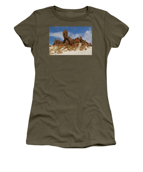 Sphinx Of South Australia Women's T-Shirt (Junior Cut) by Stephen Mitchell